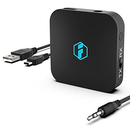 Inateck 85-BR1003-DE Wireless 4.1 Bluetooth Sender und Empfänger, aptX Adapter schwarz