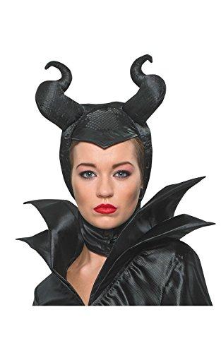 Rubie's Kostüm für Erwachsene, Malefiz aus Disneys Dornröschen, Kopfbedeckung, Einheitsgröße, Schwarz