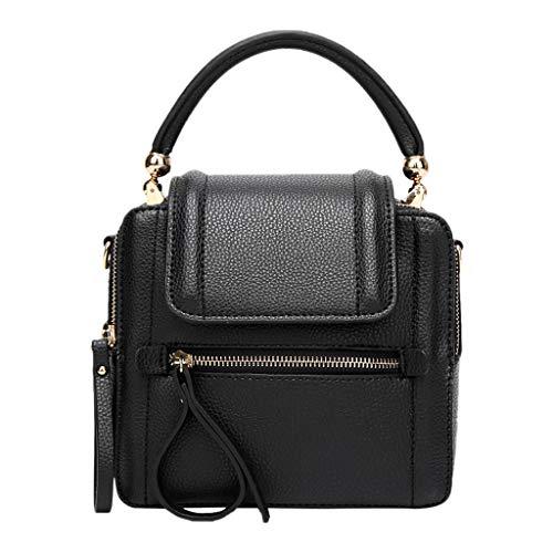 holitie Damen Umhängetasche Taschen Shoulder Bag Handtasche Schultertasche Satchel Schulter handbag Rucksack, Lychee Muster kleine quadratische Tasche Wild Casual ()