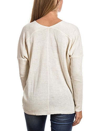 Timezone - 18-6047, T-shirt da donna bianco (off white 102)