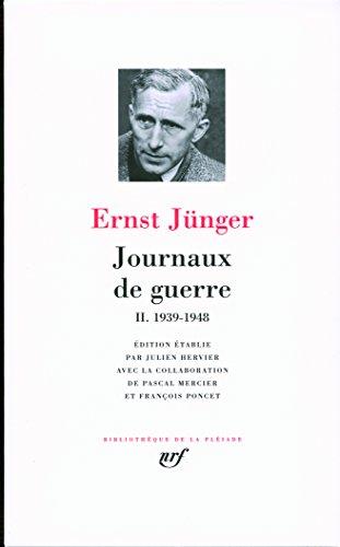Journaux de guerre (Tome 2-1939-1948)