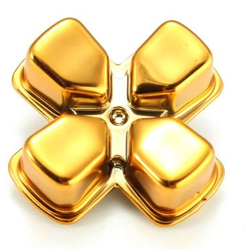 Bullet Buttons for PlayStation 4 PS4 Controller Gold (Gold)