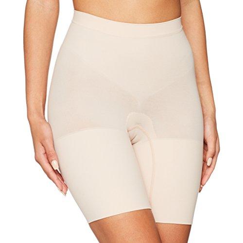 Spanx Power Short Guaina, Beige (Soft Nude 000), 44 (Taglia Produttore: Large) Donna