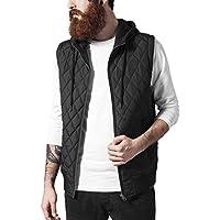 Urban Classics Diamond Quilted Hooded Vest, Gilet Uomo