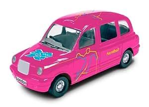 Corgi TY66129 London 2012 Destination London 2012 Taxi #27 Handball Collectable Series Die Cast Vehicle