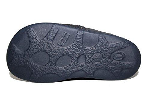Juge 42.1111.1761 bottines chaussons pour bébé - Blau /atlantic/natur 1761)