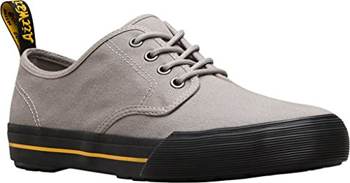 Dr.Martens Mens 4-Eyelet Pressler Canvas Canvas Shoes Gris
