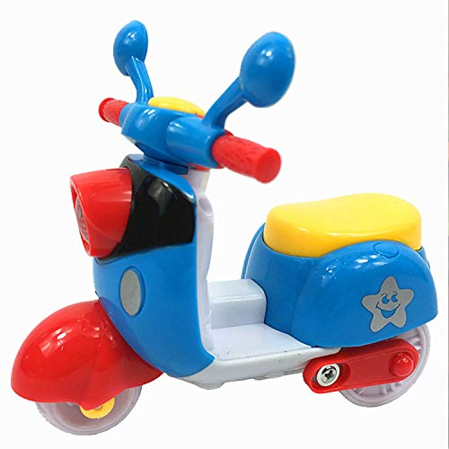 Grab Offers Early Education Adorable Cute Bright Color Scooter for 1 Year Old Baby Push and Go Toy Vehicle Scooter for Kids.(Random Colors) (1 Pcs)(8.5 x 6 x 5.5 cm)