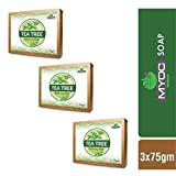 Myoc Tea Tree, Vitamin E and Glycerine Anti-Fungal and Antibacterial Soap for Acne