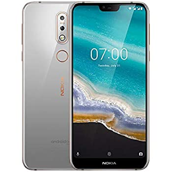 Nokia 7.1 64GB Handy, grau, Android 8.0 , Dual SIM: Amazon