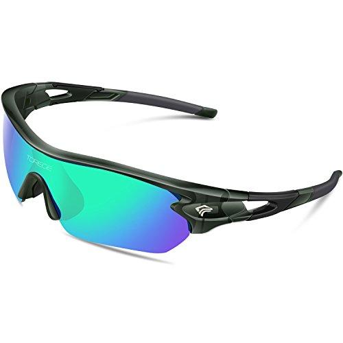 ad36b356ca sport polarized sunglasses. Torege TR002 - Lunettes de Soleil polarisées  Mixtes pour Sport