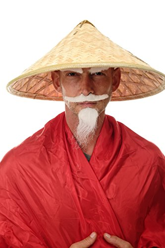 DRESS ME UP – DH-004 Hut Strohhut Bambushut Kegelhut Conical Hat China Vietnam Japan Asien Chinese Reisbauer Fischer - 6