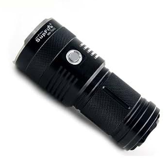 SupFire M6 Cree 900 Lumens lampe de poche Eco LED Light , noir L'eau- conception de preuve lampe de poche S'adapter Camping de plein air .