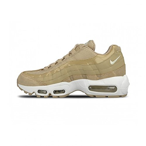 Nike Womens Air Max 95 Running Trainers 307960 Sneakers Shoes (UK 4 US 6.5 EU 37.5, Mushroom Sail White 201)