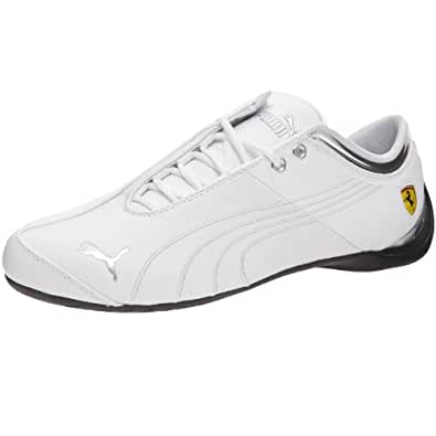 puma future cat m1 sf nm1 chaussures sport automobile homme blanc argent 36. Black Bedroom Furniture Sets. Home Design Ideas
