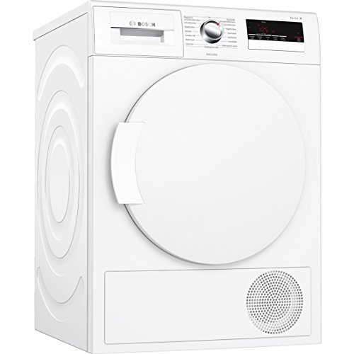 Bosch Serie 4 WTH832E27 Autonome Charge avant 7kg A++ Blanc sèche-linge - Sèche-linge (Autonome, Charge avant, Condensation, Blanc, Rotatif, Tactil, Droite)