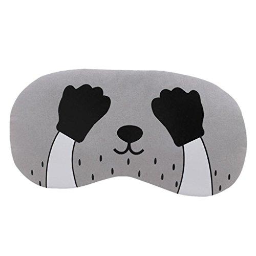 taottao Cute Cat flauschig weichem Augenmaske/Schlafmaske Reise Sleep Gepolsterte Rest Eye Schatten Cover Augenklappe Augenbinde Shield Soft Unisex Kids Schlafmaske Hilfe Geschenk