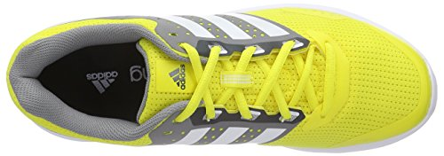 adidas  Duramo 7, Chaussures de course hommes Jaune (bright Yellow/ftwr White/dgh Solid Grey)