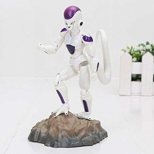 CYFLYJ Spielzeugmodell Kreatives Geschenk Tischplattendekoration Sammlung Son Goku Stämme Vegetto Vegeta Frieza Gohan Krillin Lazuli Figur Spielzeug-weiße Gefriertruhe