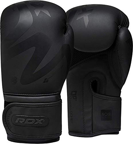 RDX Guantoni Boxe per Allenamento & Muay Thai Convex Pelle Combattimento Guanti da Sacco per Sparring Kickboxing Grande per Colpitori Punzonatura
