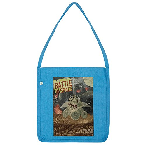 Twisted Envy Galactic Battle in Space Tote Blue