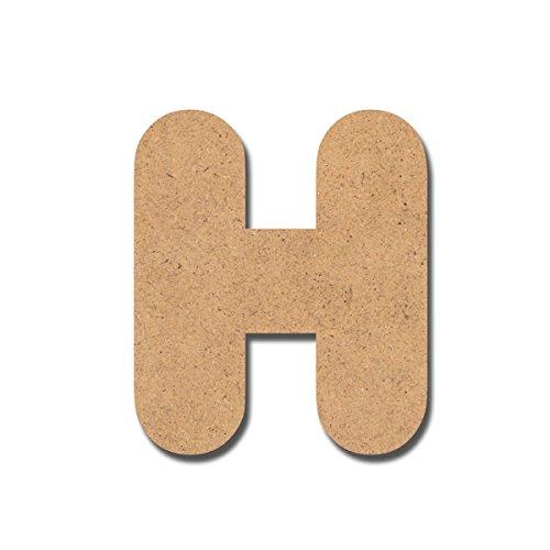 Canevas pour enfant Loisirs créatifs - Lettre en bois 7 cm H