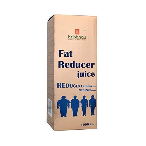 Krishna's Herbal & Ayurveda Fat Reducer Juice Reduces Fatness Naturally - 1 l