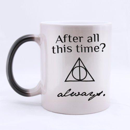 Custom nach all dieser Zeit immer Kaffee Tasse, Custom Harry Potter Becher Kaffee oder Tee Cup von jijida von jijida