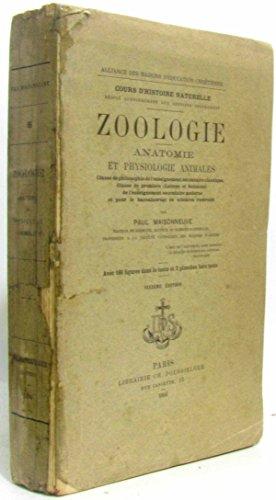 Zoologie -anatomie et physiologie animales (6e édition) par Maisonneuve
