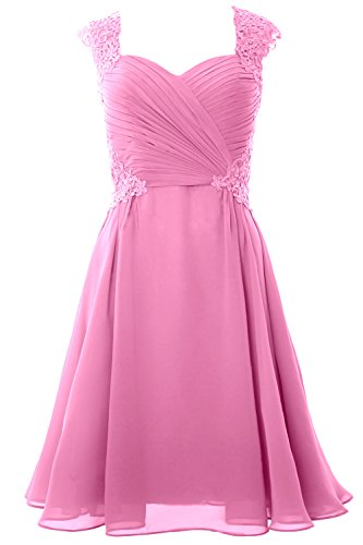 MACloth Women Cap Sleeve Cocktail Dress 2017 Short Wedding Party ...