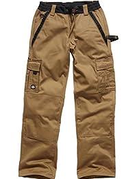 Dickies Bundhose IN30030, Mehrfarbig (Khaki/Schwarz), Size 56