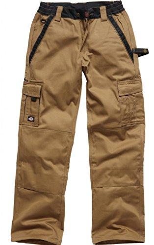 Dickies Bundhose Industry 300 khaki/schwarz KBK25, IN30030 (Eisenhower Arbeitshose Dickies)