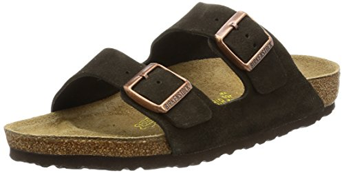 Birkenstock Arizona 51901 Mocca , Sandales mixte adulte - Mocca - 42 EU (Normal) (étroit)
