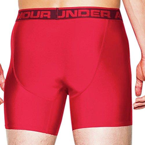 Under Armour Herren Sportswear Unterhose The Original 6 Zoll Boxerjock Rot