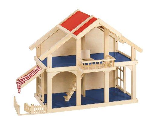 Preisvergleich Produktbild Goki 51893 - Puppenhaus mit Veranda