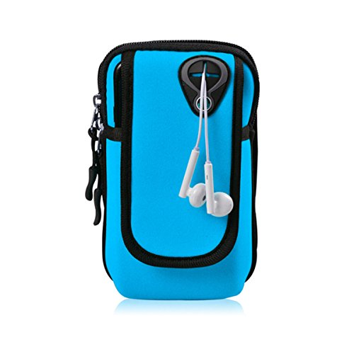 Bawar Armtasche Sport Armband Hülle Arm Tasche Handy Schlüssel Halter Outdoor Rennen Sportarmband - Nano Armband Ipod Wasserdichte