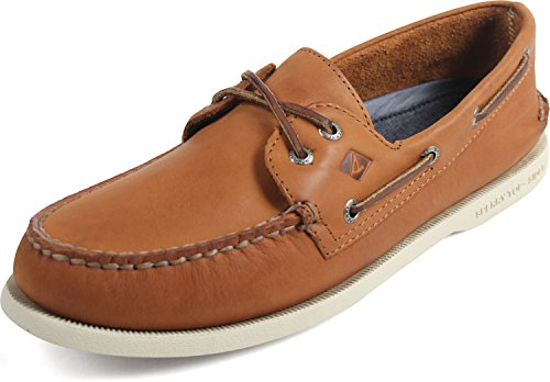 Sperry Athletic Sneakers (Sperry Top-Sider Herren A / O 2-Eye Cross Lace Schuhe, 44.5, Tan)