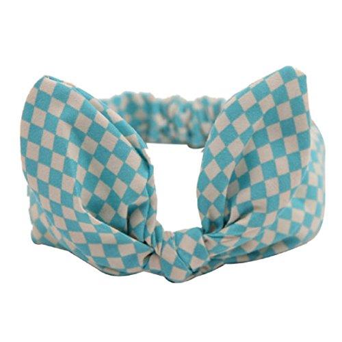 Tonsee® Bébé Bandeau Fashion Bunny Oreille Fille couvre-chefs Bow noeud élastique bandeaux