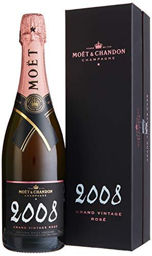 Moet & Chandon Grand Vintage 2008 Roséchampagner mit Geschenkverpackung (1 x 0.75 l)