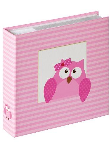 walther-design-me-118-r-lbum-beb-para-enchufar-owlet-girl-para-200-fotos-10-x-15-cm-rosa