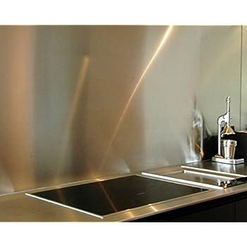 Acier Inoxydable 56 x 49 x 0,06 cm Gris Zeller 27276 Panneau de Four