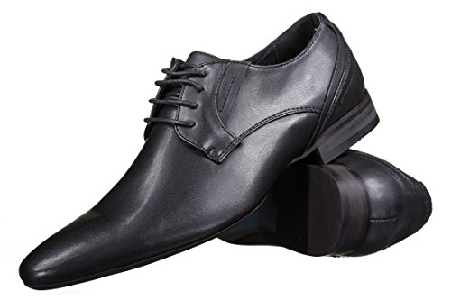 Reservoir Shoes - Chaussure Derbie Abdul Black Noir