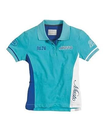 Zara Phillips ZP 176 Children's Polo T-Shirt (9 - 10 years (EU 140), Pale Turquoise)