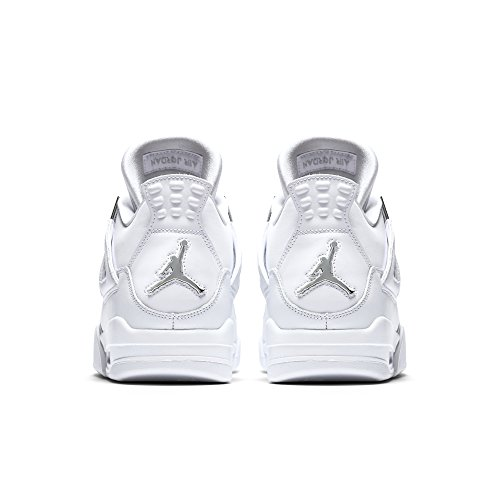 White white Metallic Money Jordan Retro Pure Trainer 4 silver metallic Silver Nike Air BFOASY