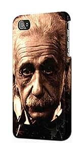 E0145 Albert Einstein Etui Coque Housse pour IPHONE 4 4S