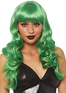 Leg Avenue- Mujer, Color Verde, Talla Única (EUR 36-40) (A2766)