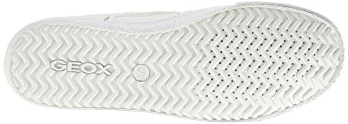 Geox U Smart I, Low-Top Chaussures homme Blanc