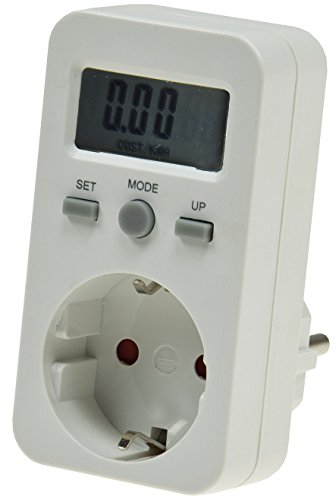 Energiekosten Messgerät Stromzähler Energiemesser Eigenverbrauch Stromkosten -