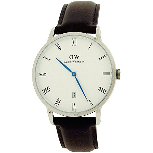 Daniel Wellington 1123DW Clock Red-Brown Silver St.Mawes 38 mm