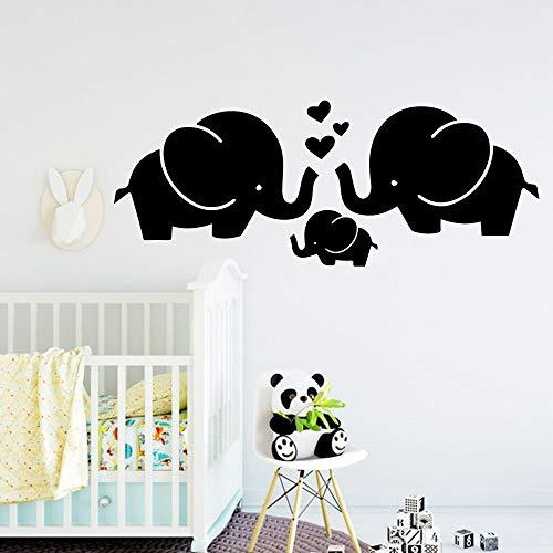 Moderne Elefanten Wandaufkleber Wohnkultur Dekoration Für Kinderzimmer Kinderzimmer Dekor Schlafzimmer Kinderzimmer Dekorationcm 97x38cm